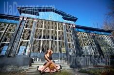 Yulia from Kremenchug 35 years - romantic girl. My small public photo.