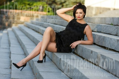 Lena from Kremenchug 36 years - clever beauty. My small public photo.