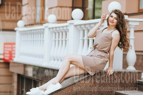 Nina from Poltava 22 years - on a summer outing. My small public photo.