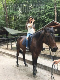 Anastasia from Lviv 21 years - introduce myself. My small public photo.