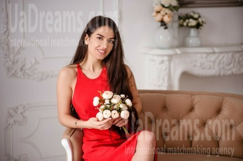 Anastasia from Lviv 21 years - favorite dress. My small public photo.