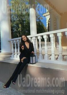 Anastasia from Lviv 21 years - nice smile. My small public photo.