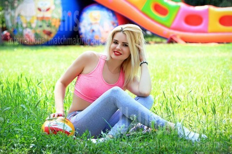 Kristina from Zaporozhye 36 years - look for fiance. My small public photo.
