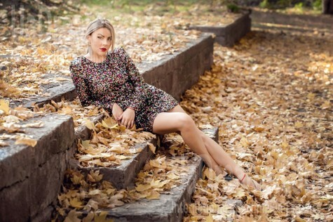 Yana from Kremenchug 36 years - ukrainian woman. My small public photo.