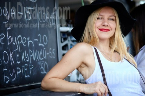 Alina from Dnipro 34 years - amazing appearance. My small public photo.