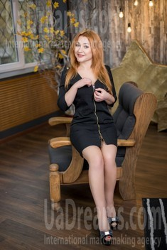 Elena from Kharkov 42 years - Kind-hearted woman. My small public photo.