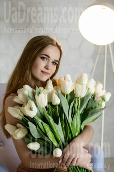 Anna from Poltava 19 years - ukrainian woman. My small public photo.