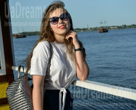 Julie from Dnipro 23 years - sunny day. My small public photo.