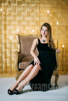 Hanna from Cherkasy 28 years - Warm-hearted girl. My small public photo.
