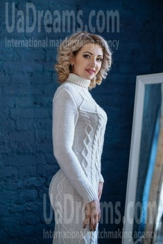 Jeniya from Dnipro 33 years - waiting for husband. My small public photo.