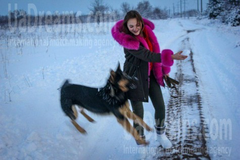 Viola from Cherkasy 20 years - girl for marriage. My small public photo.