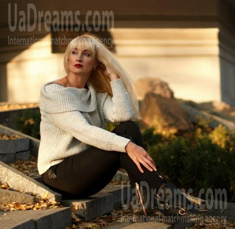 Nataliya from Dnipro 48 years - wants to be loved. My small public photo.