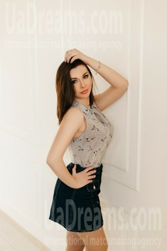 Iryna from Ivanofrankovsk 21 years - carring woman. My small public photo.
