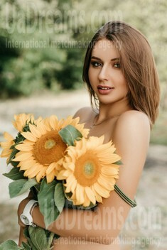 Iryna from Ivanofrankovsk 22 years - on a summer outing. My small public photo.