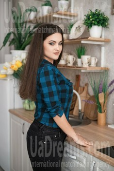 Anastacia from Dnipro 24 years - intelligent lady. My small public photo.