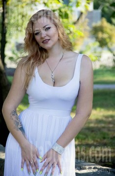 Katerina from Kremenchug 27 years - girl for marriage. My small public photo.