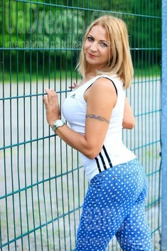 Elaine from Zaporozhye 54 years - eyes with love. My small public photo.