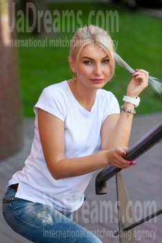 Taisiya from Kremenchug 30 years - ukrainian woman. My small public photo.