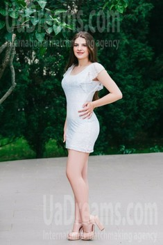 Nastia from Cherkasy 18 years - look for a man. My small public photo.