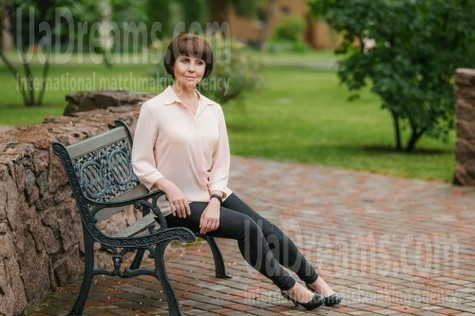 Alla from Dnipro 46 years - attractive lady. My small public photo.