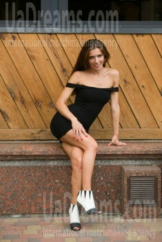 Lenochka from Cherkasy 32 years - girl for marriage. My small public photo.