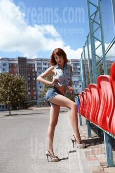 Elena from Cherkasy 38 years - carring woman. My small public photo.