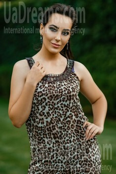 Alina from Dnipro 26 years - eyes with love. My small public photo.