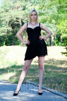 Olya from Cherkasy 33 years - girl for marriage. My small public photo.