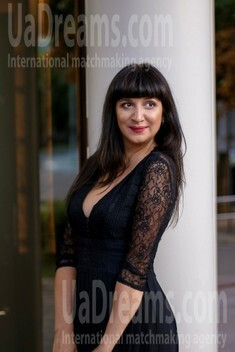 Julia from Poltava 36 years - cool photo shooting. My small public photo.