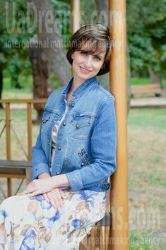 Ludmila from Cherkasy 45 years - morning freshness. My small public photo.