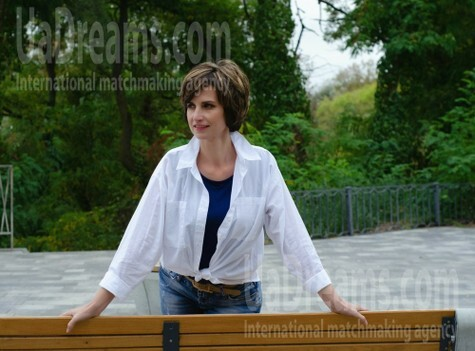 Ludmila from Cherkasy 45 years - good girl. My small public photo.