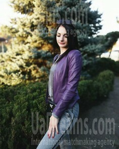 Maria from Dnipro 25 years - clever beauty. My small public photo.
