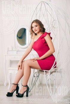Alina from Cherkasy 20 years - search for love. My small public photo.