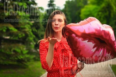 Alina from Zaporozhye 18 years - eyes lakes. My small public photo.