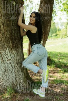 Tanya from Ivano-Frankovsk 19 years - bright smile. My small public photo.