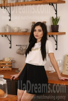 Elena from Dnipro 23 years - kind russian girl. My small public photo.