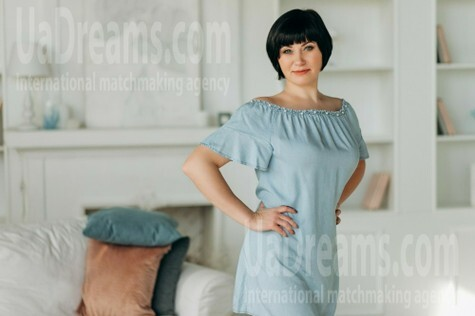 Svetlana from Poltava 42 years - favorite dress. My small public photo.