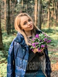 Nadia from Ivano-Frankovsk 22 years - eyes with love. My small public photo.