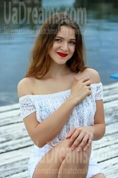 Oksana from Zaporozhye 20 years - bride for you. My small public photo.