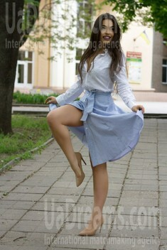 Julia from Zaporozhye 21 years - Warm-hearted girl. My small public photo.