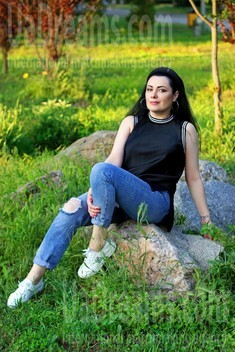 Olechka from Zaporozhye 43 years - loving woman. My small public photo.