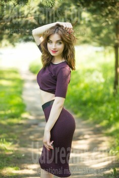 Hanna from Sumy 27 years - Warm-hearted girl. My small public photo.