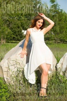 Hanna from Sumy 27 years - girl for marriage. My small public photo.
