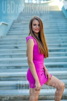Alexa from Sumy 27 years - Warm-hearted girl. My small public photo.