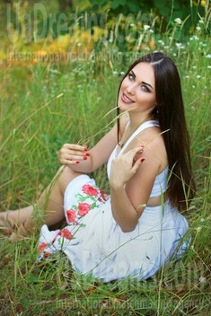 Nika from Zaporozhye 28 years - eyes with love. My small public photo.