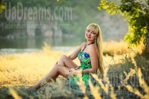 Tanya from Zaporozhye 41 years - bright smile. My small public photo.