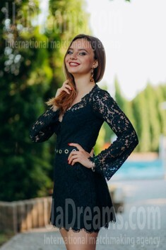 Kristina from Lutsk 22 years - sunny day. My small public photo.