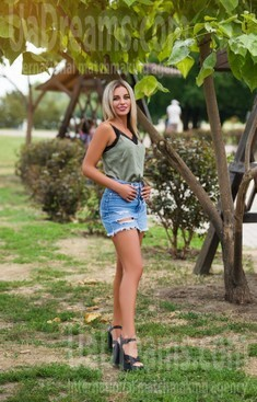Olya from Cherkasy 26 years - attractive lady. My small public photo.