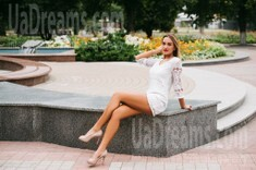 Anastasia from Cherkasy 24 years - carring woman. My small public photo.