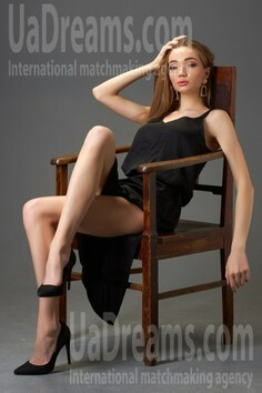 Anastacia Kremenchug 22 y.o. - intelligent lady - small public photo.